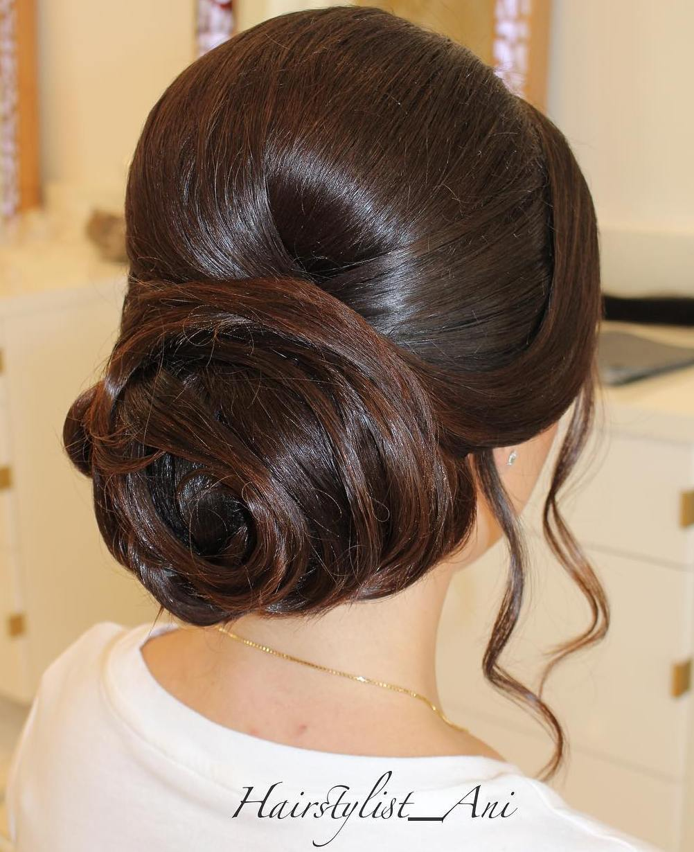 Formal Low Bun Updo
