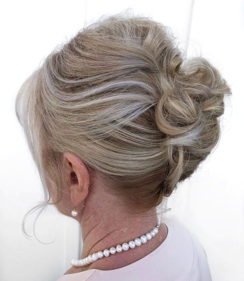 Mother Of The Groom French Roll Updo