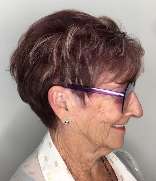 Short Gray Hair Over 70