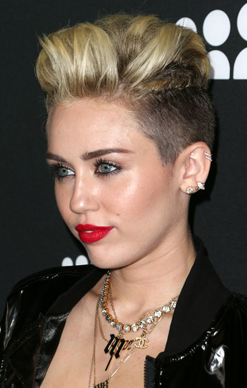 hair Miley cyrus new