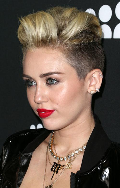 hair Miley cyrus new