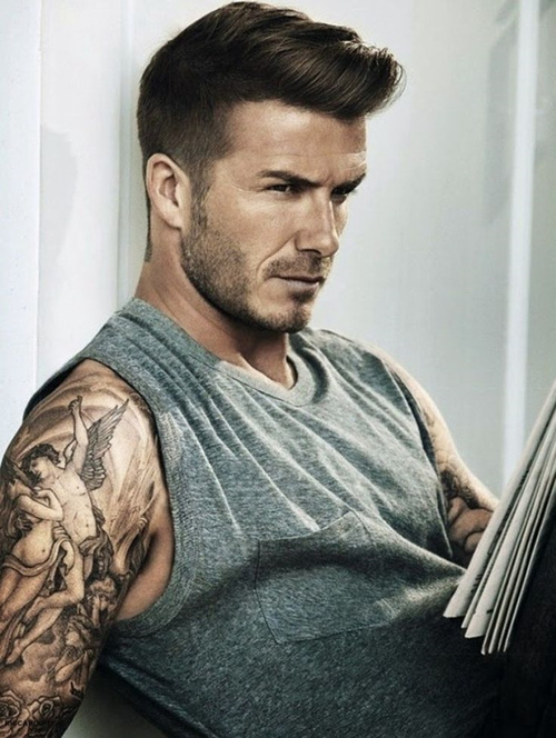 David Beckham Haircuts Ideas From The Man With The Million Faces - Latest hairstyle of beckham