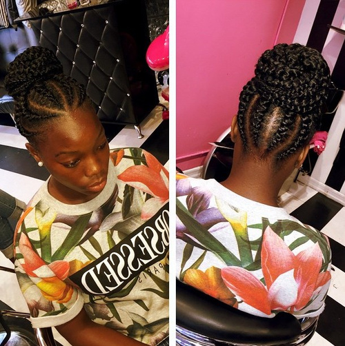 Tremendous 40 Chic Twist Hairstyles For Natural Hair Hairstyle Inspiration Daily Dogsangcom
