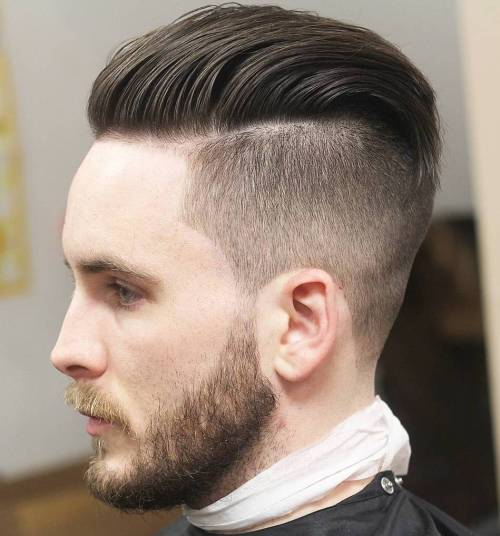 Undercut With A Beard