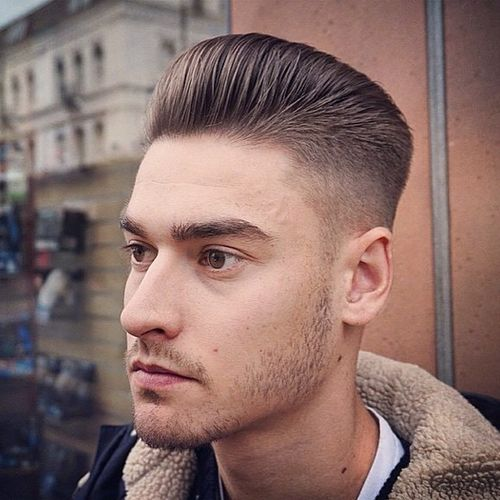 Pleasing 40 Ritzy Shaved Sides Hairstyles And Haircuts For Men Hairstyle Inspiration Daily Dogsangcom