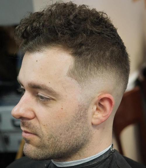 Fade For Thin Curly Hair