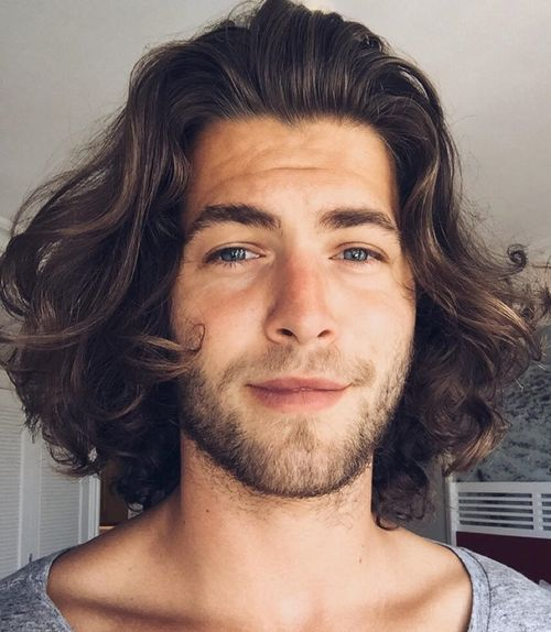 Curly hairstyles for medium hair men