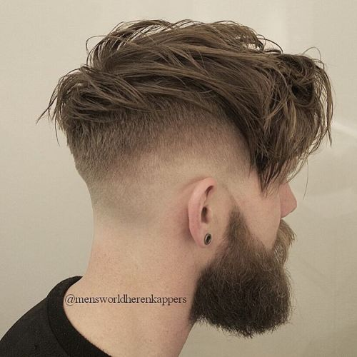 Long Top Undercut With Fade