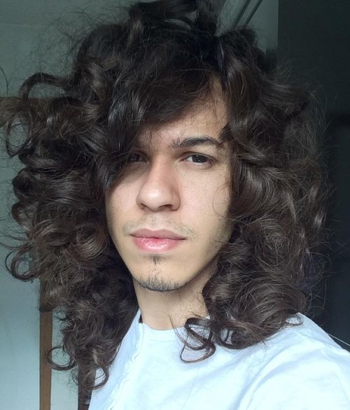 men long curly hair styles 45 best curly hairstyles and haircuts for 2019 7179 | 6 long curly mens hairstyle