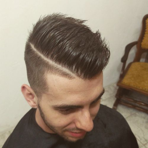 40 Ritzy Shaved Sides Hairstyles And Haircuts For Men