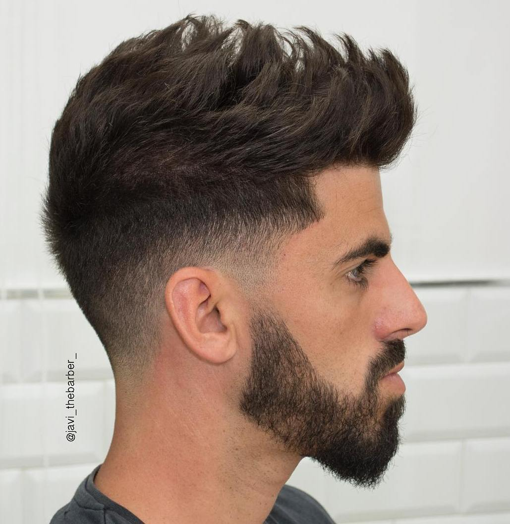 Awesome Spiky Taper Fade