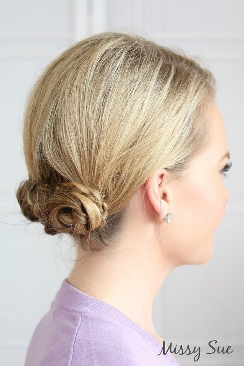 20 Casual Updos That Never Look Plain Or Boring