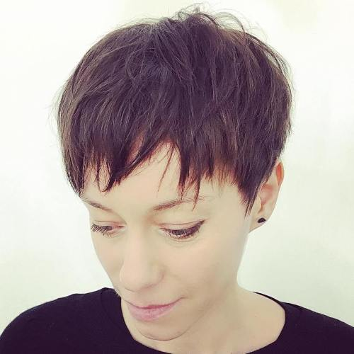 Razored Pixie Haircut