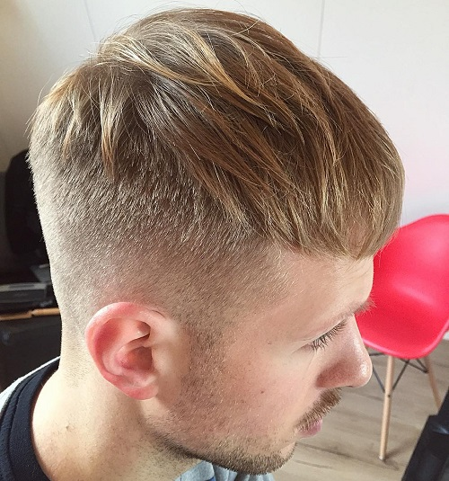 long top Caesar haircut