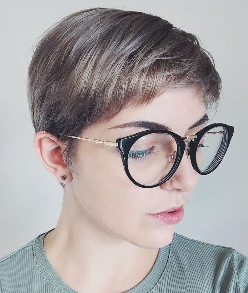 Neat Short Pixie For Girls