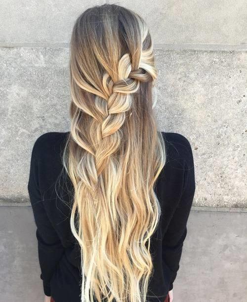 Admirable 45 Fabulous Half Updos New Styling Ideas Short Hairstyles Gunalazisus