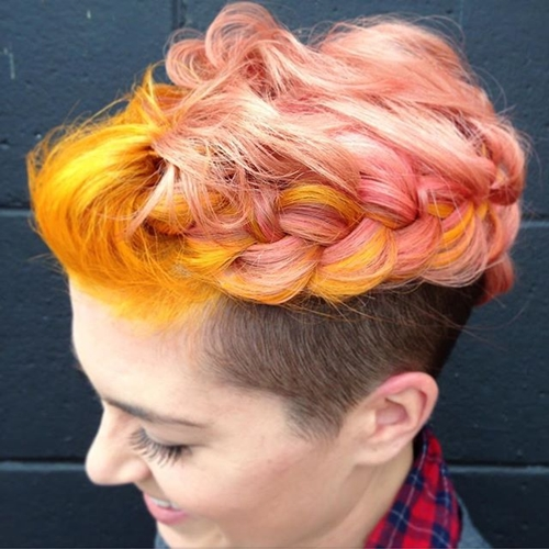 lon top short sides hairstyle for women