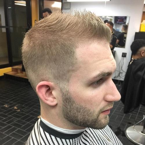 short spiky haircut for blonde fine hair