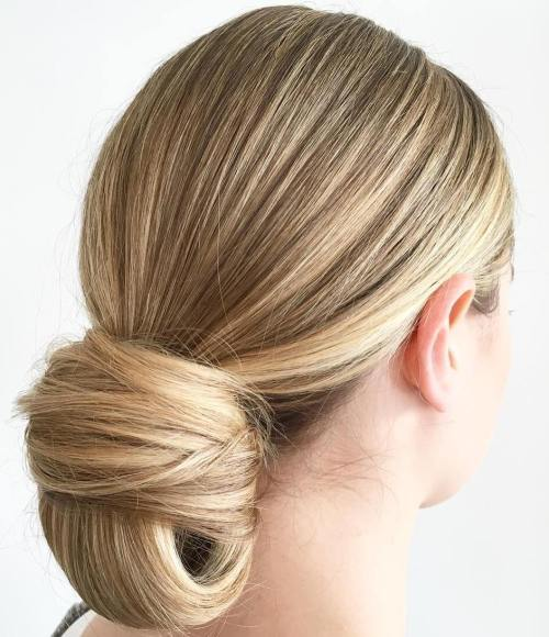 Formal Chignon Updo