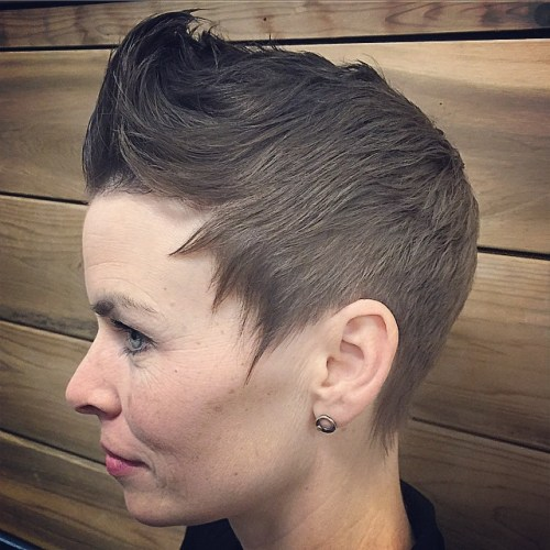 Pixie Hairstyle For Thin Hair