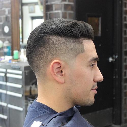 short sides haircut for men