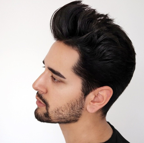 spiky hairstyle for men