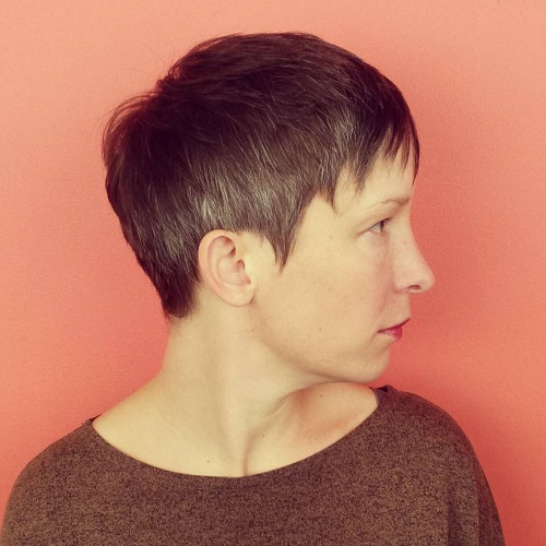 Cute Short Pixie Haircuts Femininity And Practicality - Classic pixie hairstyle