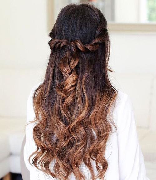 Astounding 45 Fabulous Half Updos New Styling Ideas Short Hairstyles Gunalazisus