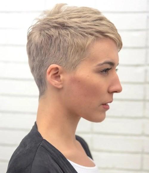 Short Boyish Cut For Girls