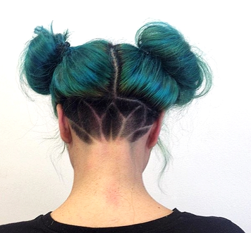 Anime Inspired Hairstyles: 50 Women's Undercut Hairstyles To Make A Real Statement