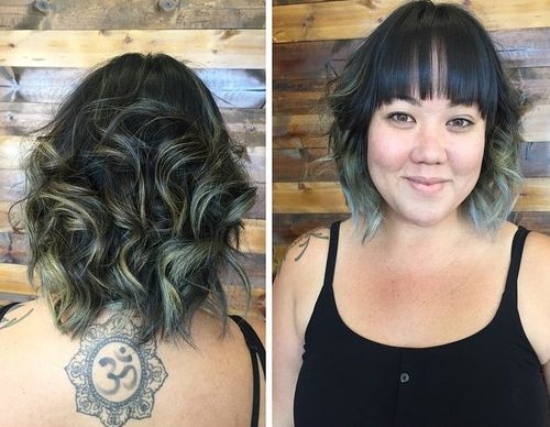Swell 40 Cute Styles Featuring Curly Hair With Bangs Short Hairstyles Gunalazisus