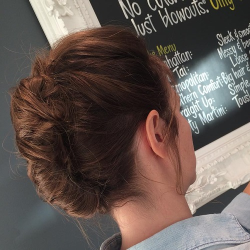 Casual Updo For Long Hair