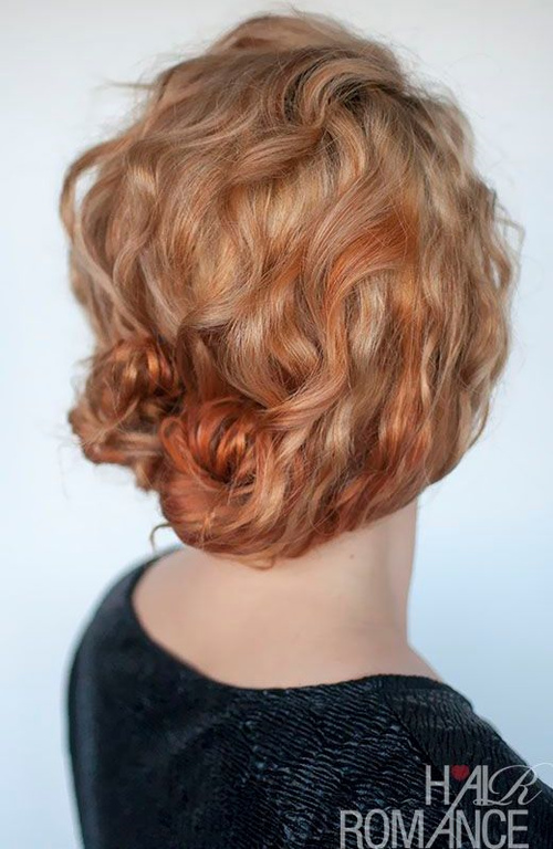 Prime 30 Creative Updos For Curly Hair Hairstyle Inspiration Daily Dogsangcom
