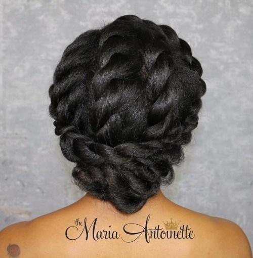 Swell 50 Cute Updos For Natural Hair Short Hairstyles For Black Women Fulllsitofus