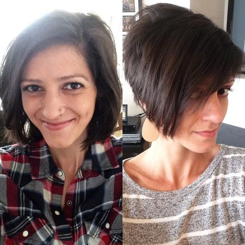 short stacked pixie bob