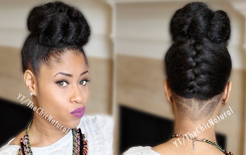 Swell 50 Updo Hairstyles For Black Women Ranging From Elegant To Eccentric Hairstyles For Women Draintrainus