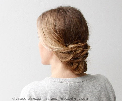 18 alluring loose updos for any event low bun loose updo urmus Choice Image