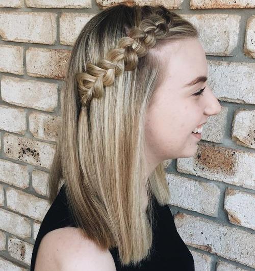 Side Dutch Braid For Long Hair