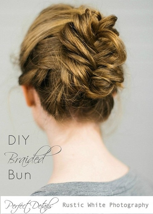 29 Fabulous Braided Updos For Modern Day Princesses