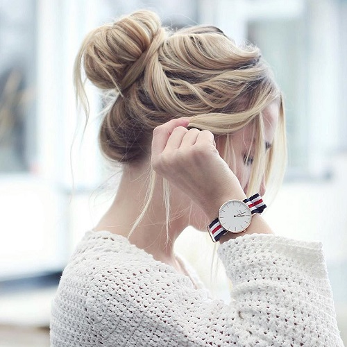 Messy Bun Guide 40 Newest Messy Buns For 2017