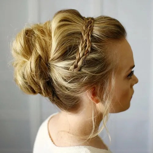 Sensational 30 Easy And Stylish Casual Updos For Long Hair Short Hairstyles For Black Women Fulllsitofus