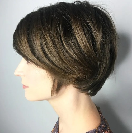 Long Pixie Cut For Thick Hair