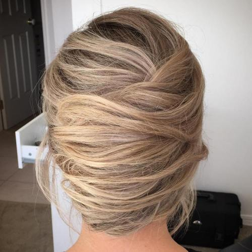 Messy Voluminous French Roll