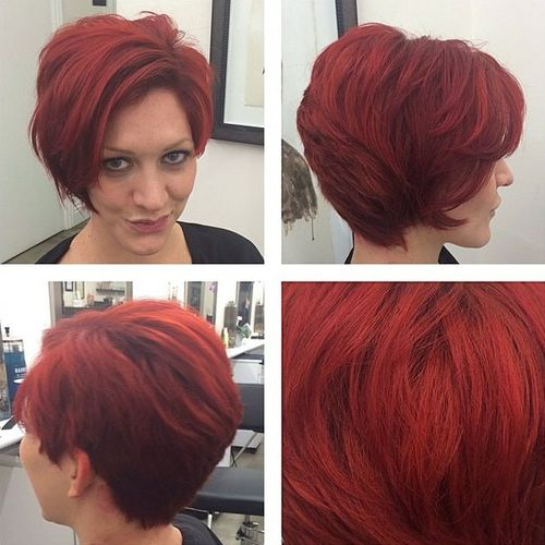 60 gorgeous long pixie hairstyles red pixie bob haircut urmus Gallery