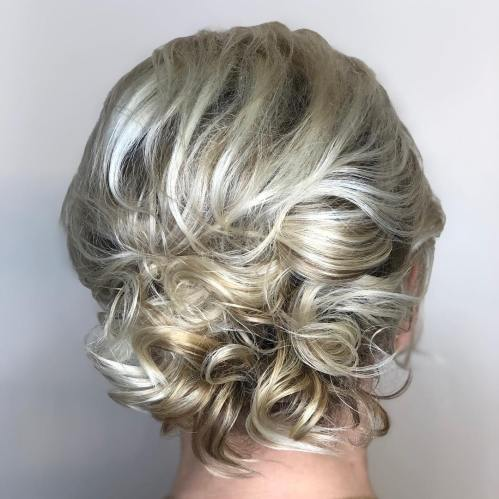 Cute Updos With A Bouffant For Short Hair