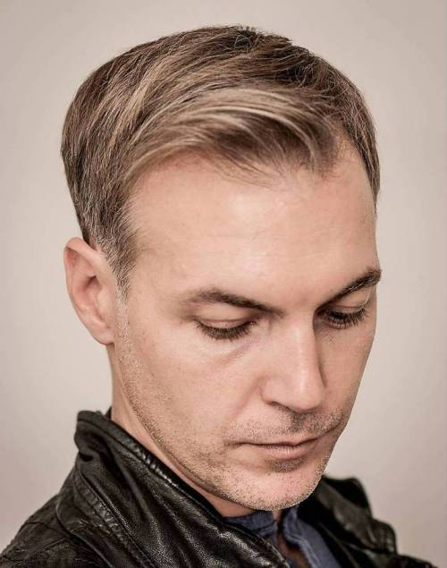 Classy Haircuts And Hairstyles For Balding Men - Long hairstyle for bald head