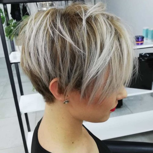 Wispy Pixie Cut with Bangs