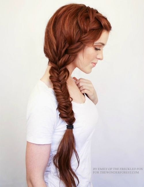 Pleasing 20 Stylish Side Braid Hairstyles For Long Hair Hairstyle Inspiration Daily Dogsangcom