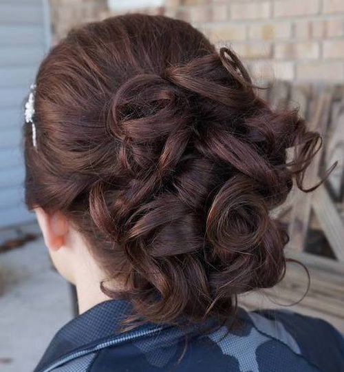 Curled Formal Updo