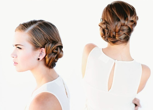 elegant updos pretty ladies